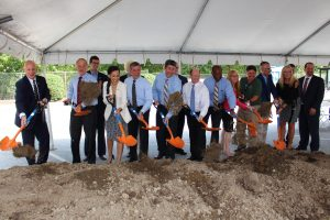 Newark Regional Transportation Center Groundbreaking