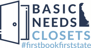 Basic Needs Closet Logo #firstbookfirststate