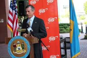 Governor Carney speaks at Executive Order signing.