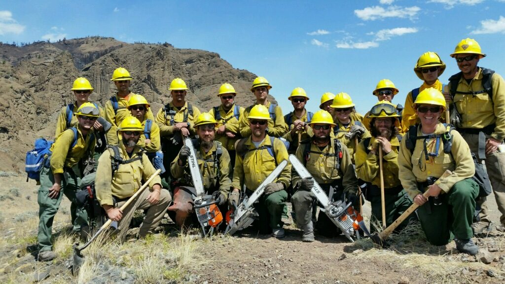 Delaware wildfire crew battled fires in Colorado and Wyoming in 2016