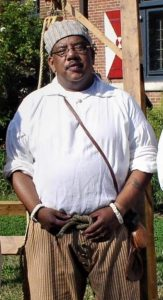"Historic-site interpreter Tom Pulmano will be presenting ""Life at Sea"" during the ""18th Century Market Fair"" on Nov. 4, 2017"