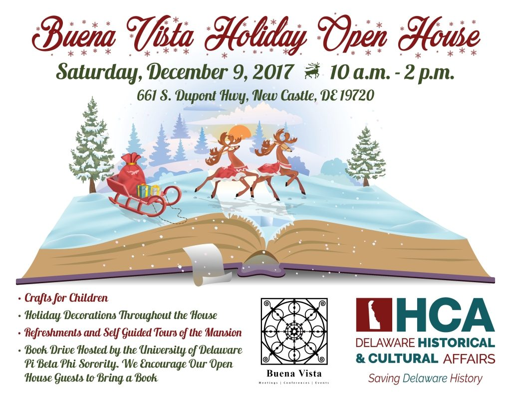Buena Vista Holiday Open House flyer