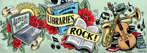 Libraries Rock graphic