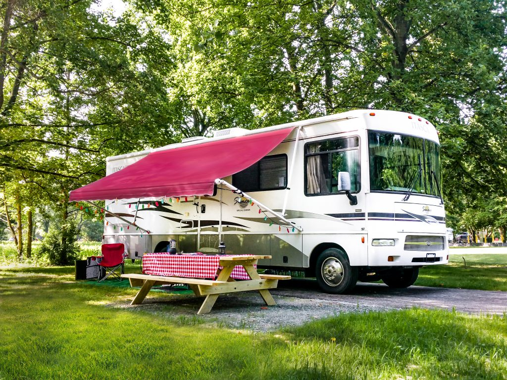 Recreational Vehicle at Lums Pond State Park