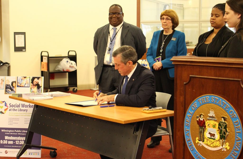Governor Carney signs Social Work Proclamation
