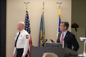 Governor Carney demonstrates Text to 911.