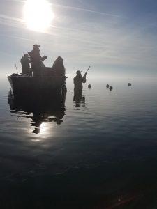 Rehoboth Bay Ice Fog