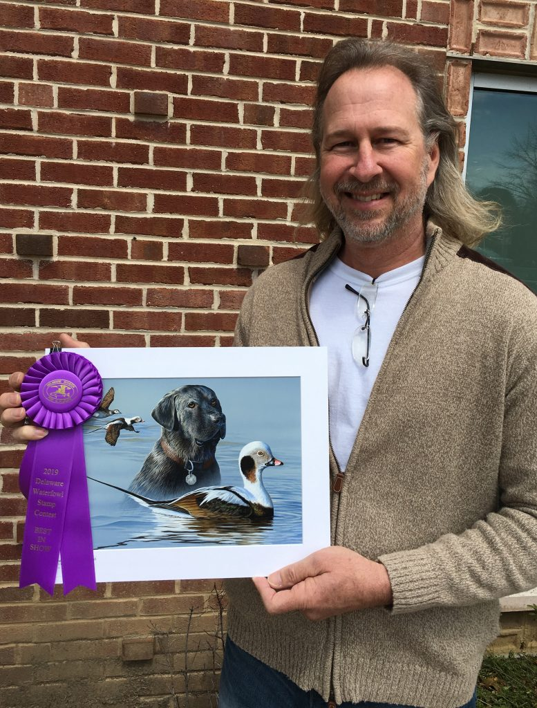 Richard Clifton, Waterfowl Stamp Winner