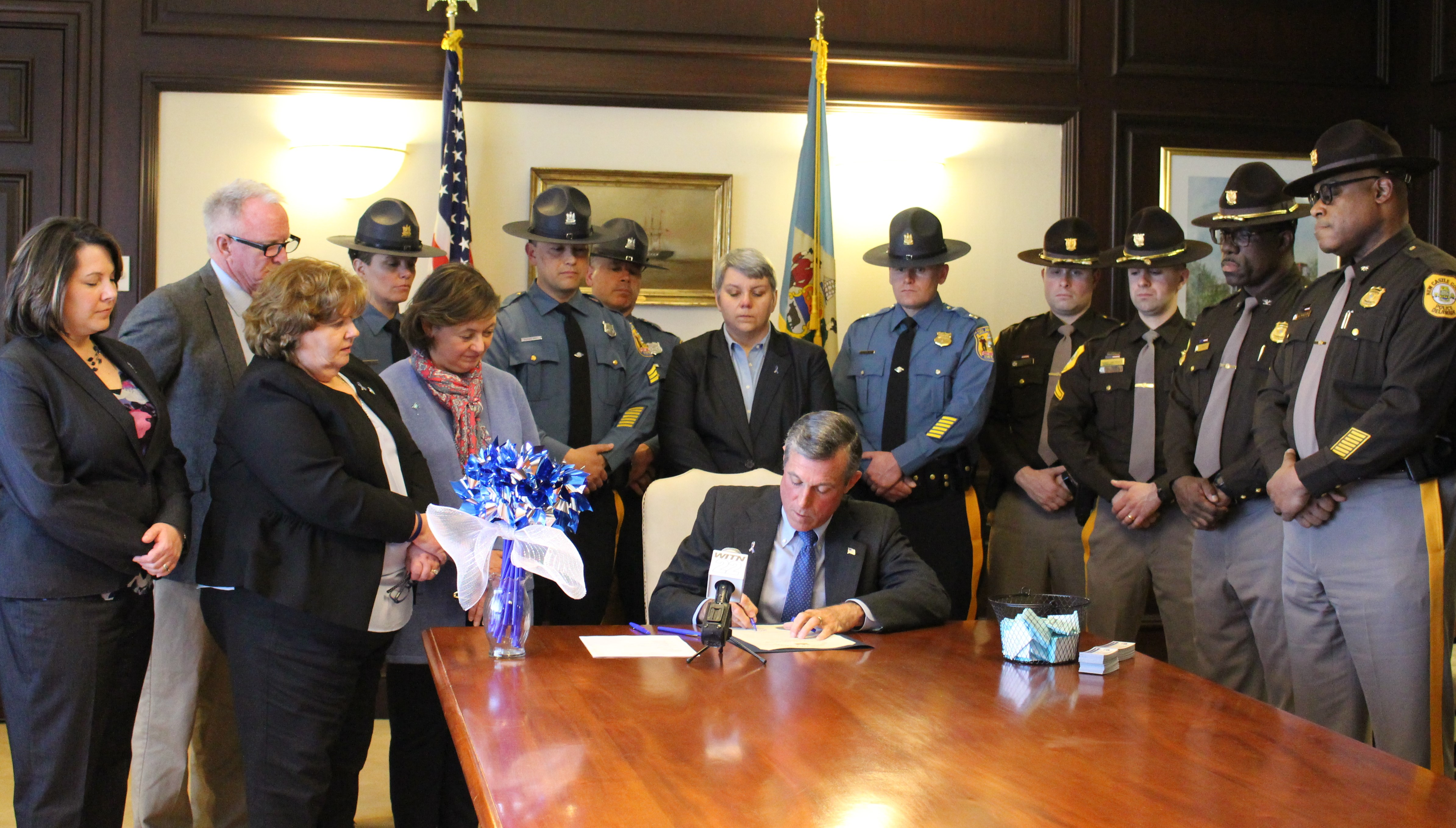 Governor Carney signs Child Abuse Prevention Month proclamation