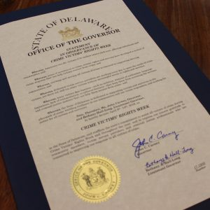 Crime Victims' Rights Week Proclamation