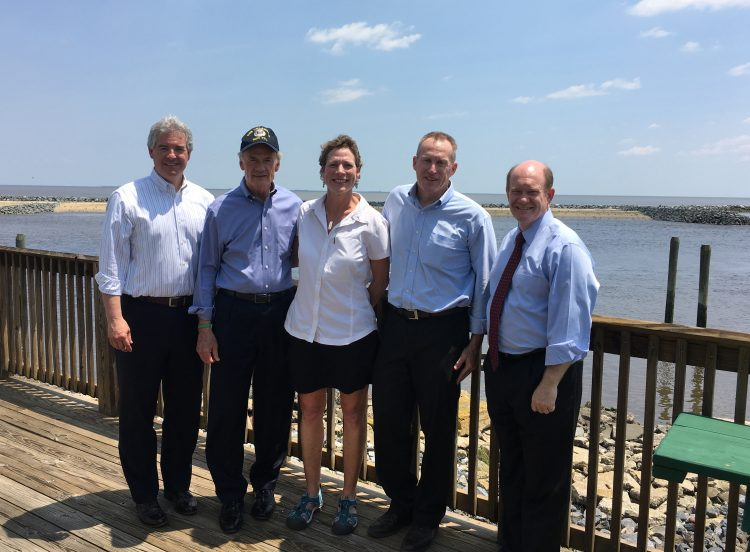 Completion of Mispillion Harbor Habitat Restoration