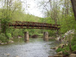 Pomeroy Bridge in White Clay Creek State Park