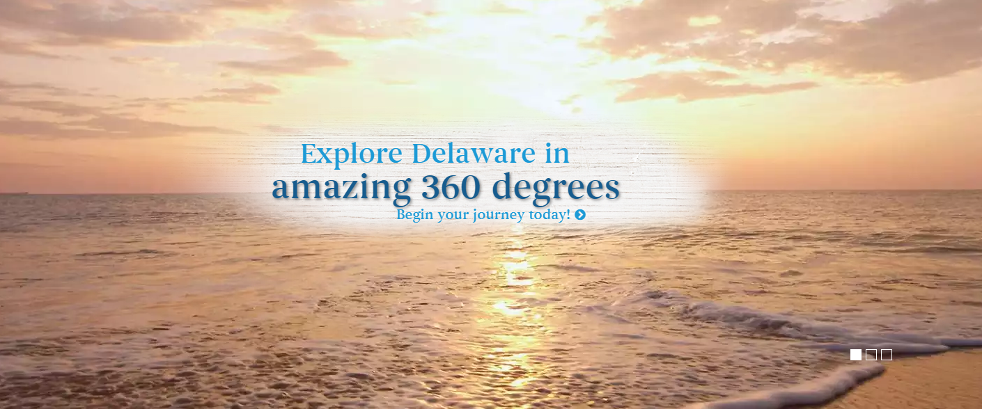 Explore Delaware in 360 degrees