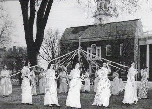 Maypole Dancing in Dover