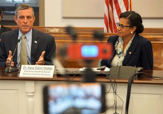 Governor and Secretary Walker