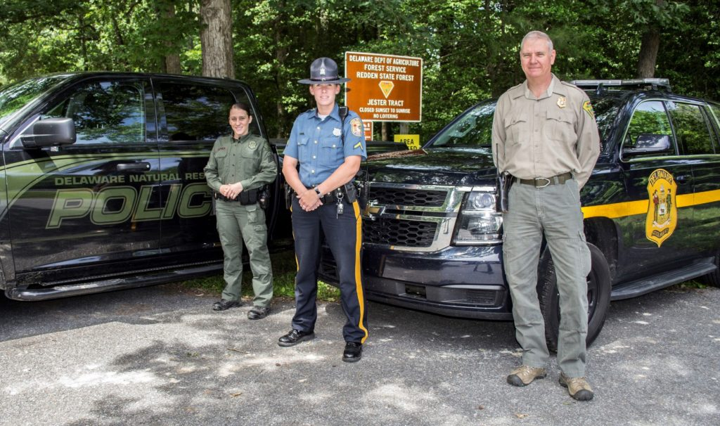 Fish & Wildlife, Delaware State Police, Delaware Forest Service
