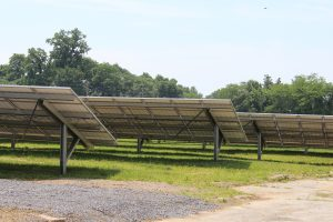 WHA and Ecogy Energy solar park panels
