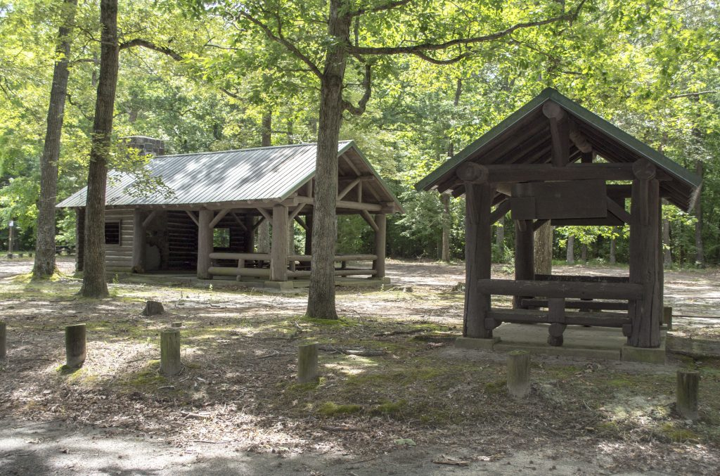 Redden Forest historic Pavilion
