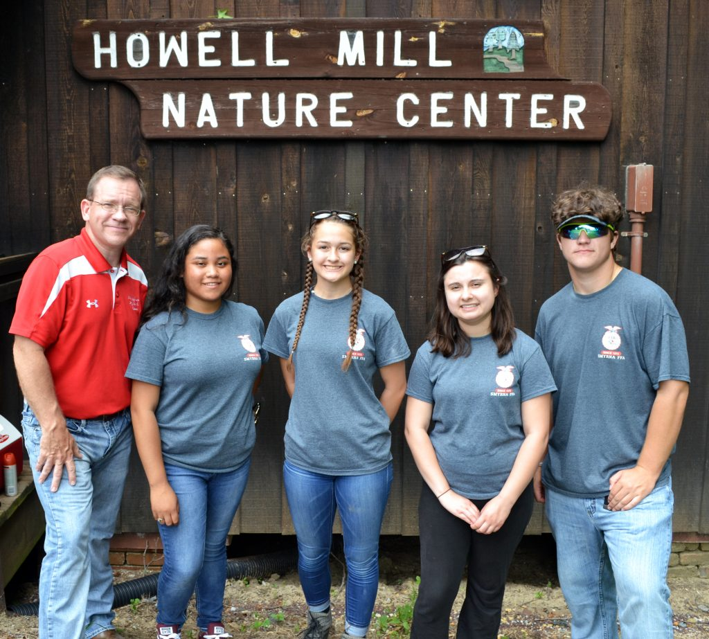 Smyrna High School FFA forestry team