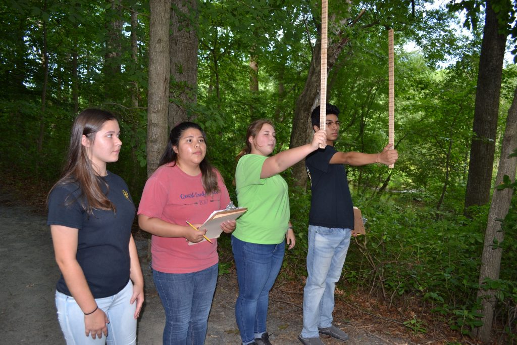 Woodbridge FFA forestry team