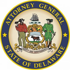 Picture of the State of Delaware Attorney General Seal