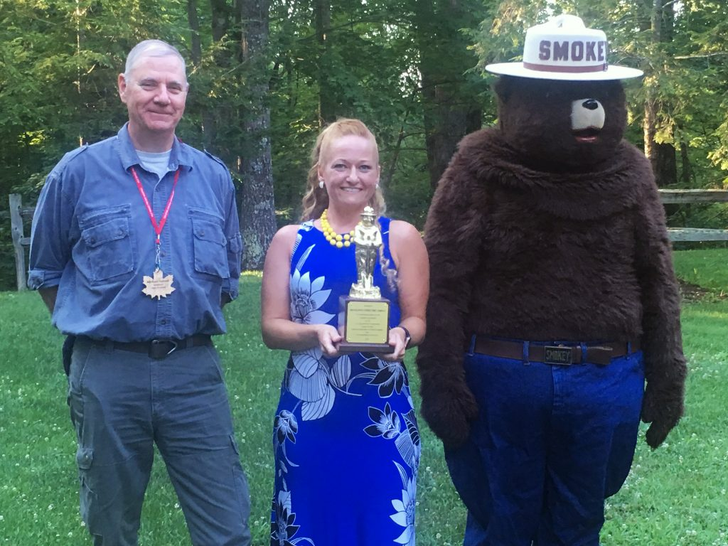 Delaware Forest Service Gold Smokey Award