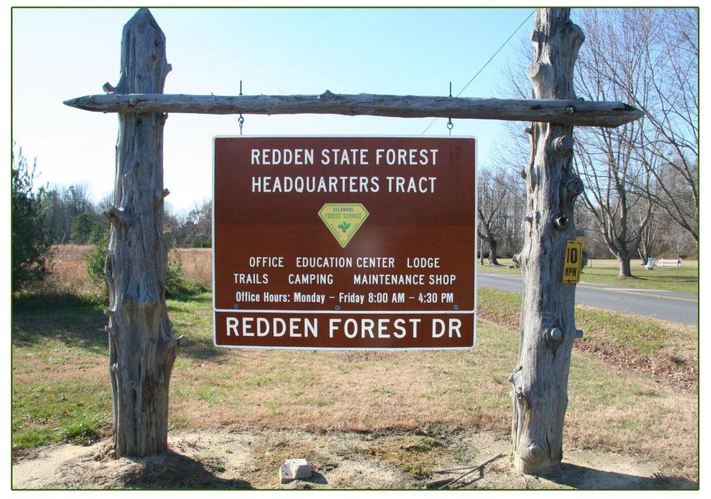 Redden Forest sign