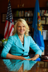 Photo of Delaware's Lt. Governor Bethany Hall-Long