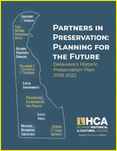Delaware's Historic Preservation Plan, 2018–2022 cover
