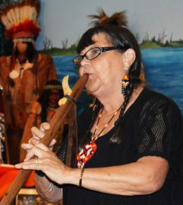 Native-American flutist Boe Harris will perform at the Johnson Victrola Museum on Sept. 1 and 3, 2018.