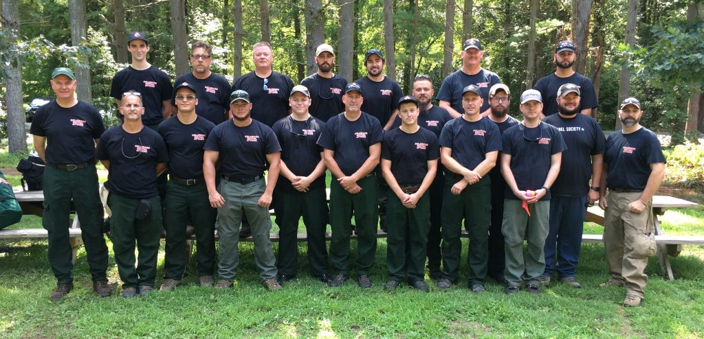 Delaware wildfire crew Northern Rockies