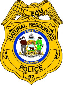 Picture of the ECU shield of the DNREC Police