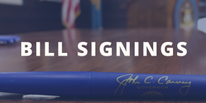 Bill Signings