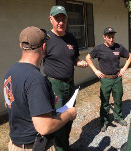 Delaware wildfire crew Mike Valenti