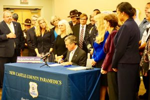 Governor signing bill