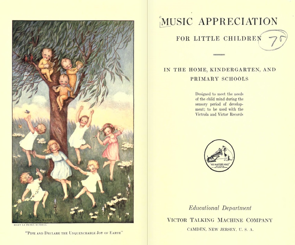 "The Victor Talking Machine Company Education Department will be explored in the program ""Early 1900s Music Education"" at the Johnson Victrola Museum on Oct. 6, 2018."