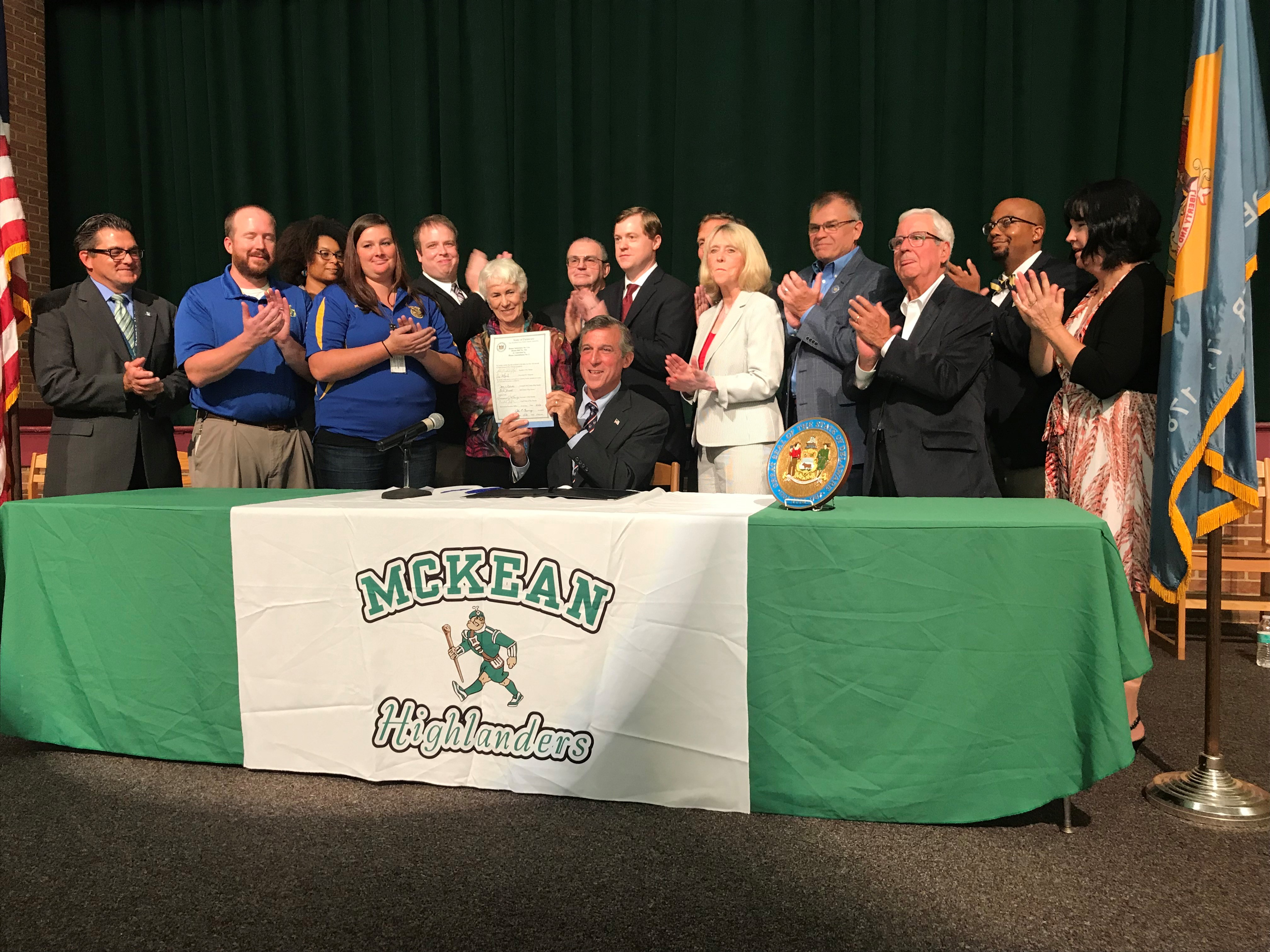 Governor Carney signs HB 346