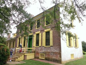 Photo of the mansion house at the John Dickinson Plantation