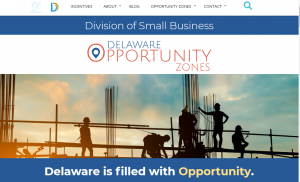 delaware opportunity zone website