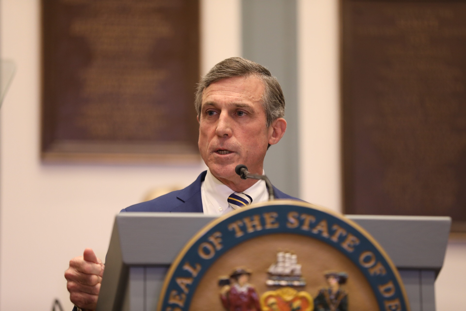 Governor Carney delivers his 2019 State of the State Address