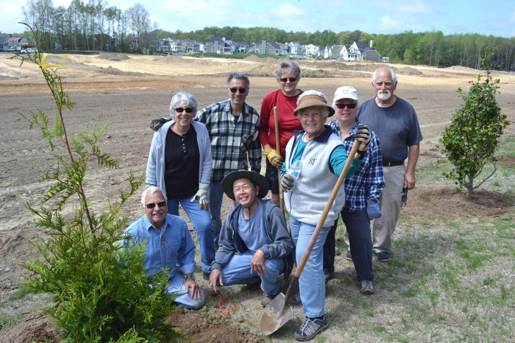 Rehoboth Beach Tree Planting
