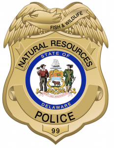 Picture of the DNREC Fish & Wildlife Police Shield