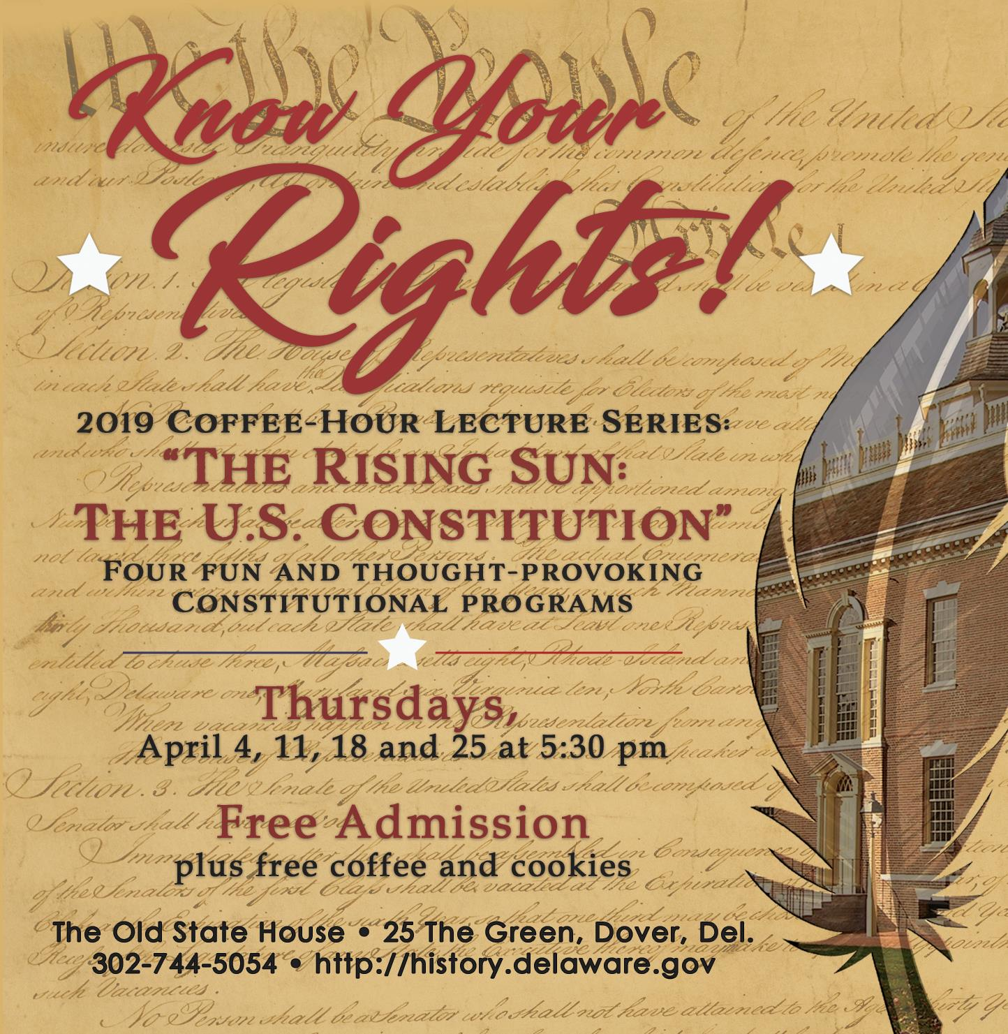 """The Rising Sun: The U S  Constitution"""": The Old State"""