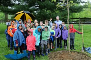 Planting a Tree at Bellevue State Park
