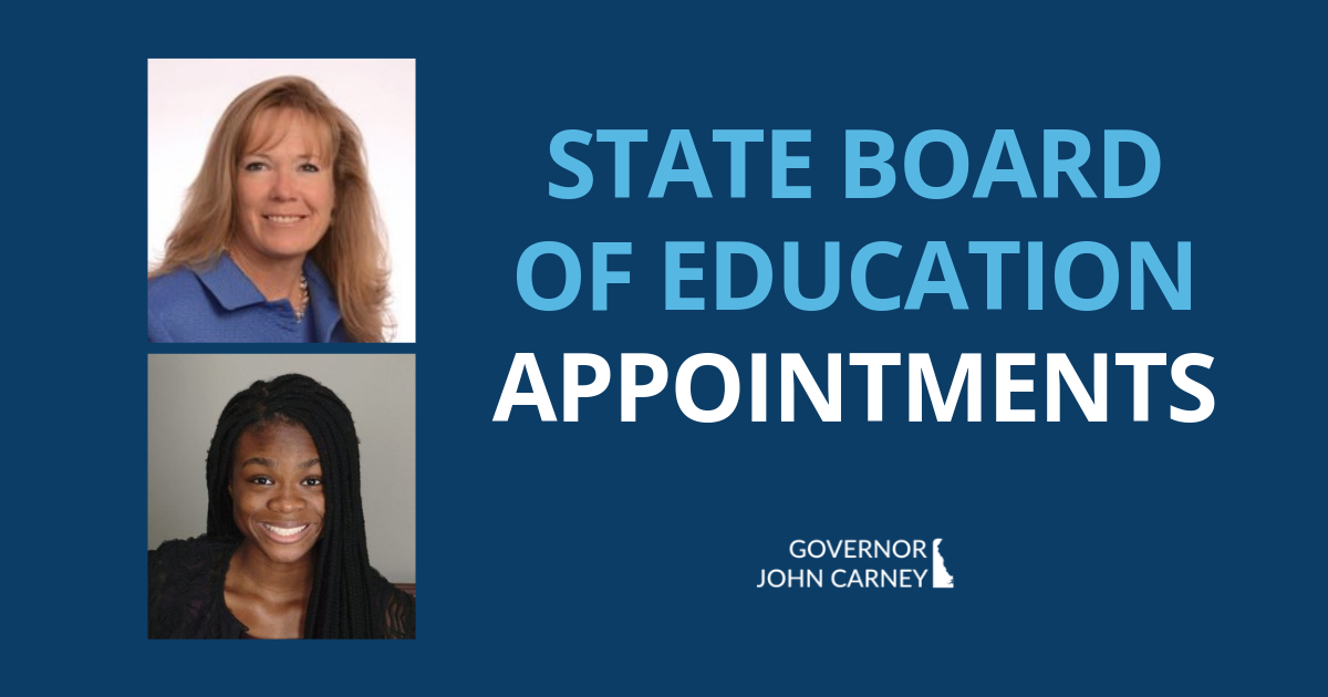 State Board of Education Appointments