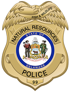 Picture of the DNREC Natural Resources Police Badge