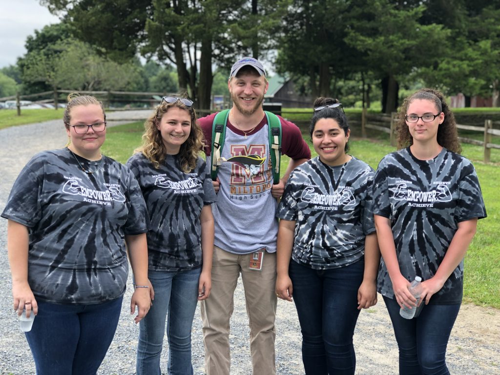Milford FFA forestry team