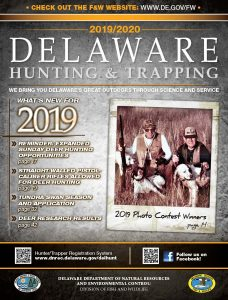 2019/20 Delaware Hunting Guide Cover