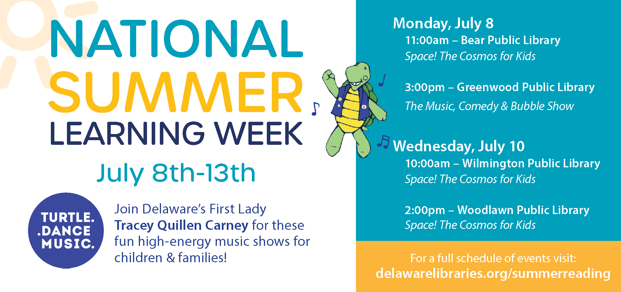 Delaware Celebrating National Summer Learning Week (July 8