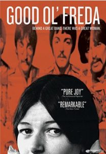 "Photo of a poster for the documentary film ""Good Ol' Freda."""